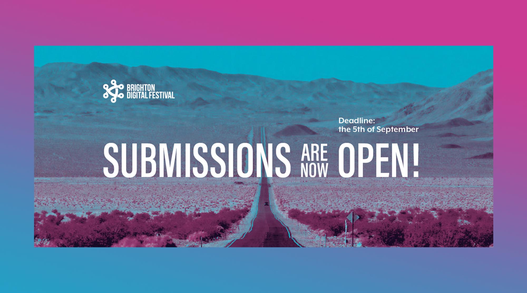 Submissions for Brighton Digital Festival 2021