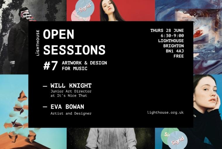Open Session #7: Artwork & Design For Music